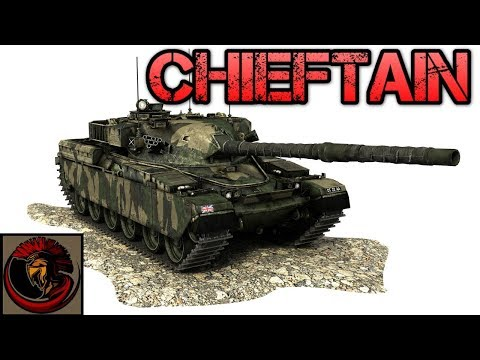 British Chieftain FV4201 Main Battle Tank - 120mm Rifled Firepower