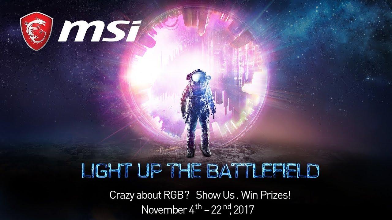 LIGHT UP THE BATTLEFIELD – RGB Creative Video Contest | MSI