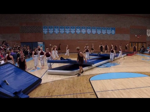 Viborg Elite Gymnastics Performa At Pueblo HS [From Denmark]