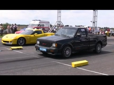 但??但?測但?? 但?? 但??但??但?? Chevrolet Corvette Vs. GMC Syclone - YouTube