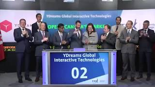YDreams Global Interactive Technologies Inc. opens TSX Venture Exchange