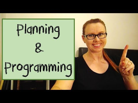Back to School | Planning & Programming (FREE templates)