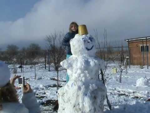 Большой снеговика 3