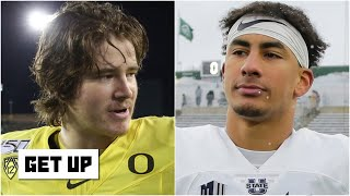 Jordan Love vs. Justin Herbert: Comparing 2020 NFL draft stock | Get Up