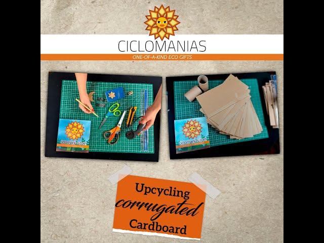 Upcycling Corrugated Cardboard