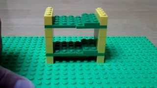 Tutorial - How To Make A Lego Bunk Bed (lego Bedroom Serie)