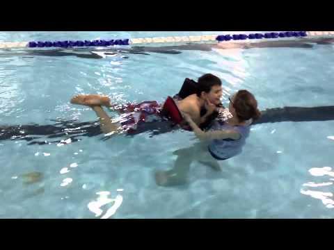 Swimming Using Lifejackets