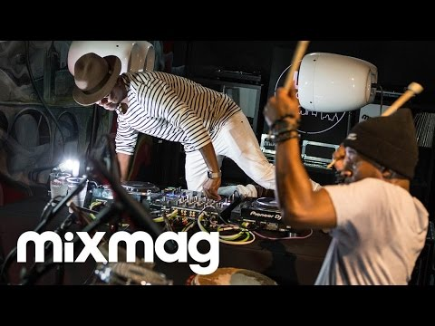 BLACK MOTION live drum set in The Lab LDN