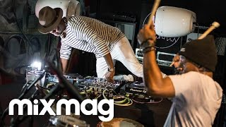 vuclip BLACK MOTION live house set in The Lab LDN
