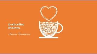 Animated Coffee break slide. Powerpoint tricks