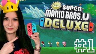 ⭐️ ZAWSZE ją to spotyka...   New Super Mario Bros.U Deluxe #1