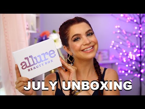 july-allure-beauty-box-unboxing-2020