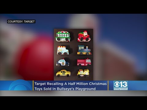 Craig Stevens - Target Recalling Half Million Christmas Toys