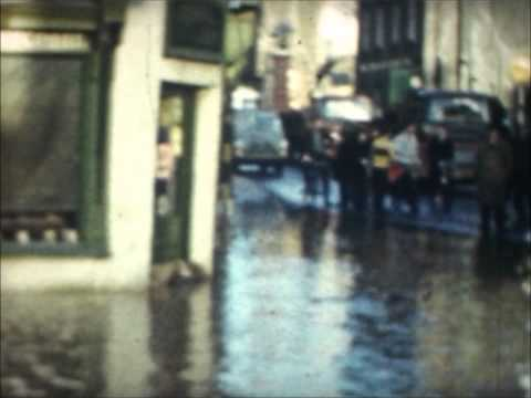 Usk floods 1960