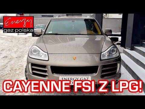 Montaż LPG Porsche Cayenne 3.6 FSI 290KM bezpośredni wtrysk w Energy Gaz Polska na auto gaz PRINS