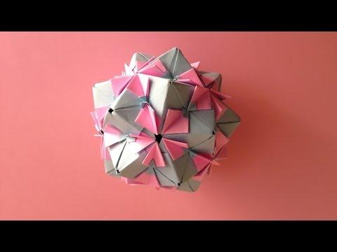 簡単 折り紙:折り紙 くす玉 ユニット-popmatx.com