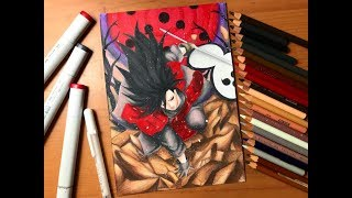Speed Drawing - Madara Uchiha (Naruto Shippuden) [HD]