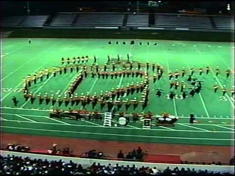 United Township High School Marching Band Finals 1996 fixed audio