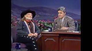 WILLIE NELSON HAS FUN WITH JAY LENO