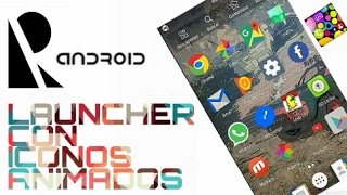 Launcher con iconos animados screenshot 1