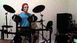 Oasis vs ACDC vs Skrillex vs Knife Party  Back To Wonderwall-Drum cover