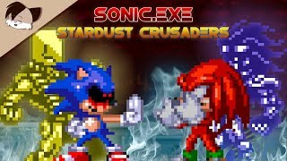 Sonic.exe: Stardust Crusaders l Knuckles vs Sonic.exe [Animation]