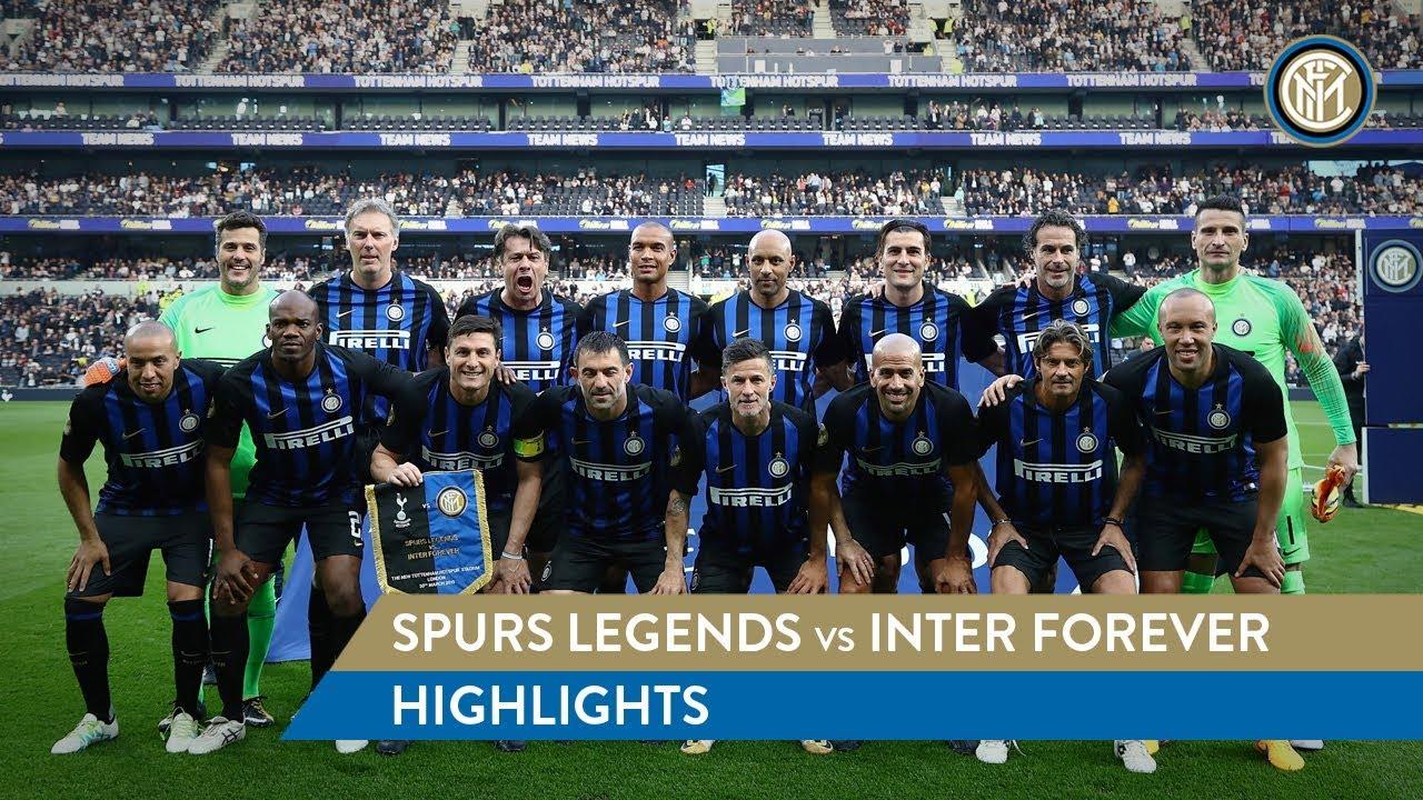06eb26ca2 SPURS LEGENDS vs INTER FOREVER | HIGHLIGHTS | What a 'debut' for Juan  Sebastian Veron!