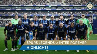 SPURS LEGENDS vs INTER FOREVER | HIGHLIGHTS | What a 'debut' for Juan Sebastian Veron!
