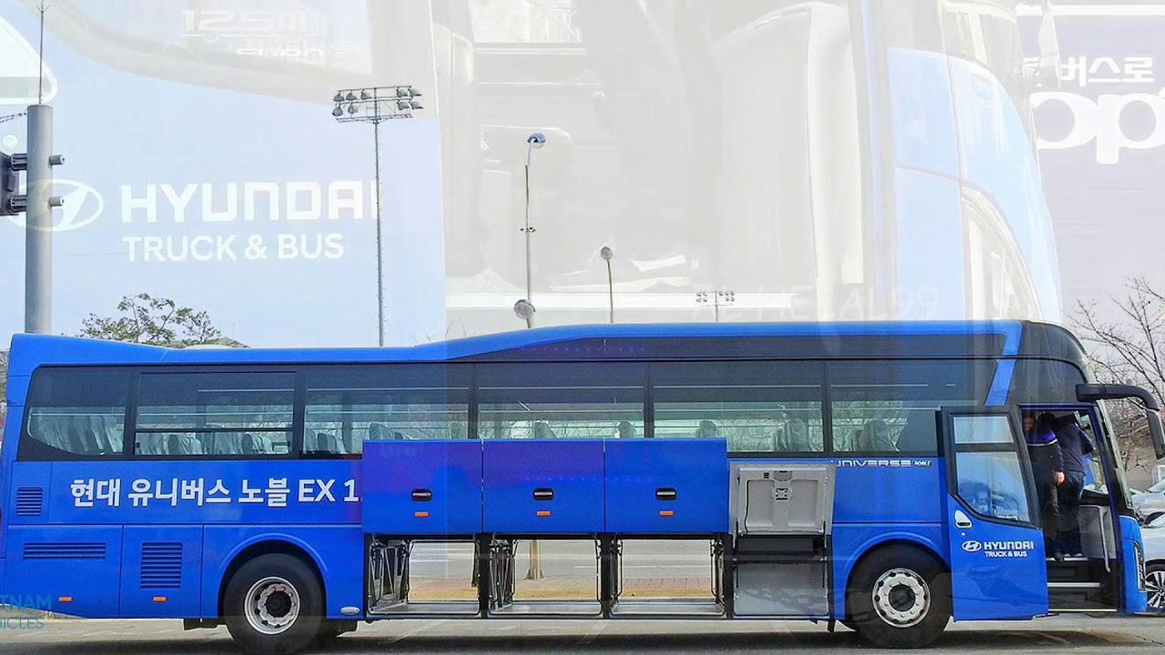 নতুন মডেলের Hyundai বাস দেখুন।HYUNDAI UNIVERSE NOBLE EX 2020।New Hyundai Bus EX 2020