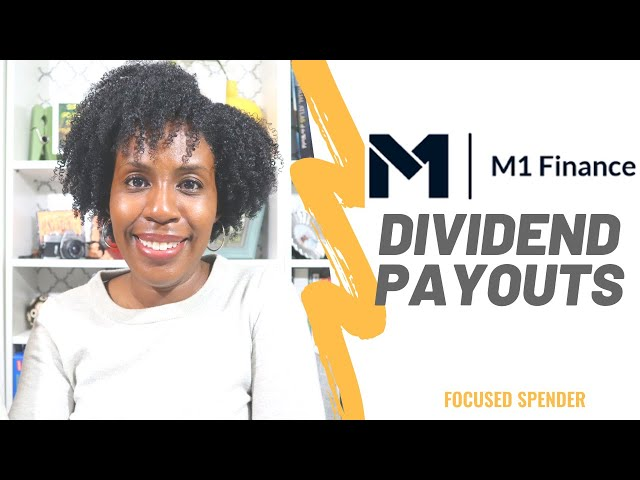 My M1 Finance Dividend Payout After One Year!!