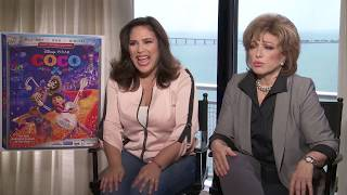 Pixars Coco Stars Angelica Vale and Angelica Maria Cried Even Before Movie Started YouTube Videos