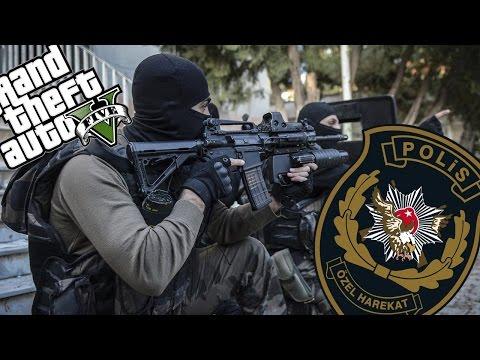 TÜRK POLİS ÖZEL HAREKAT MODU - GTA V MODLARI