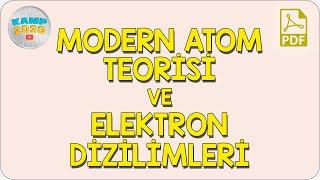 Modern Atom Teorisi ve Elektron Dizimleri  AYT Kimya 2020