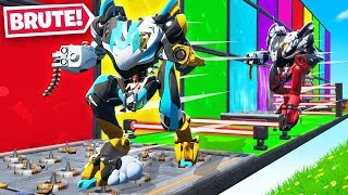 MECH Deathrun FOR Loot in FORTNITE!