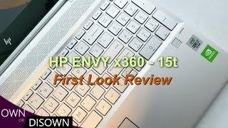 HP Envy x360 15t - i7 10510U - How Good is Comet Lake?