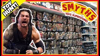 TOY HUNT!!!   ROMAN REIGNS HAS AN ACCIDENT! WWE Mattel Wrestling Action Figure FUN #89
