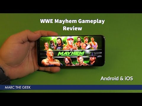 WWE Mayhem Gameplay Review (Android/iOS)