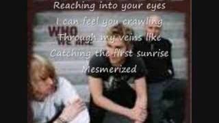 Lifehouse - Mesmerized w/ lyrics