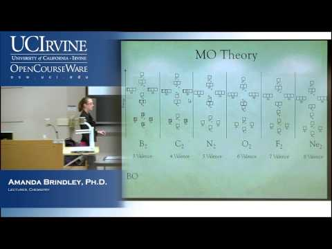General Chemistry 1A. Lecture 14. Molecular Orbital Theory.