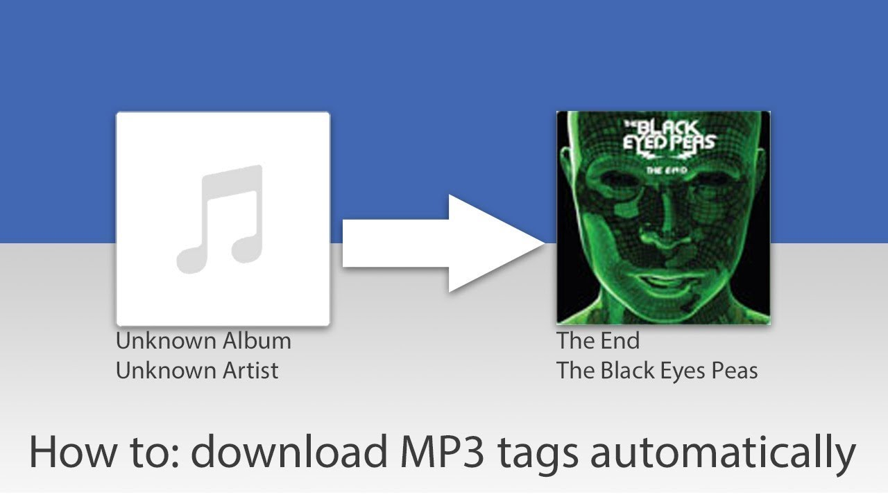 Automatic MP3 Tagger- download album artwork | Music Tag