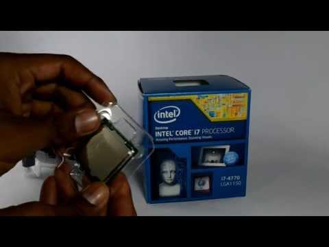 Procesador Intel Core i7 4770 LGA 1150 Cuarta Generación