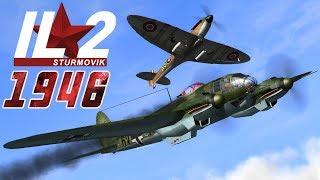 Full IL-2 1946 mission: Battle of Britain Heinkel Crew