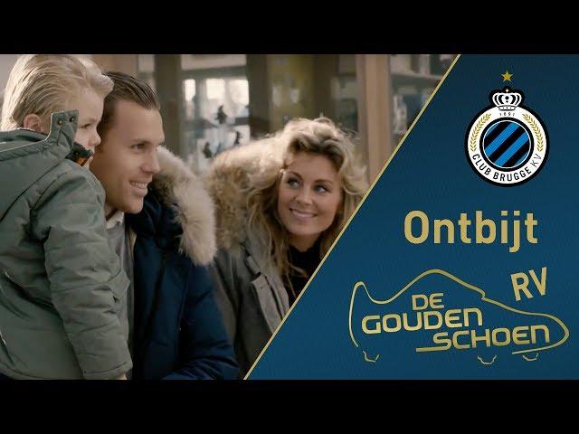 CLUB BRUGGE Gouden schoen Ruud Vormer   Ontbijt   2017-2018