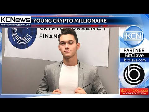 Young millionaire thanks to digital currency
