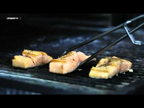 Charcoal Ovens - Josper  / Salmón a la brasa  / Grilled salmon