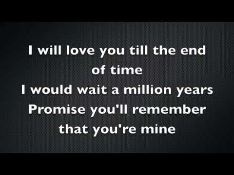 Love You Till The End Of Time Lyrics