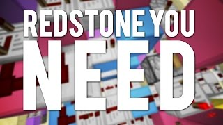 10 Redstone Builds You Will Need!