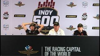 INDY 500 Harding Steinbrenner Racing, GESS International Media Announcement