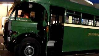Newark-On-Trent Full on History with Leyland Tiger Bus 1935 Visiting Newark-On-Trent