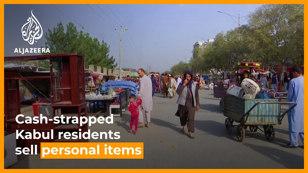Download Kabul residents resort to selling household items to make ends meet